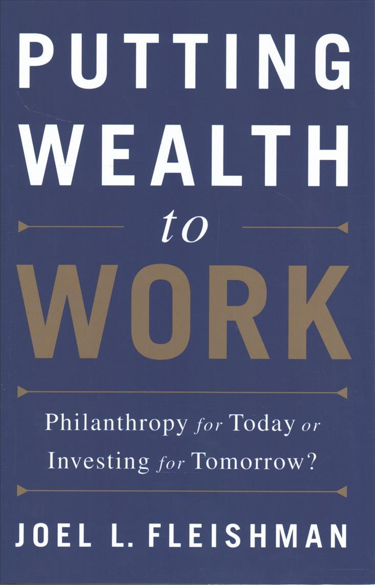 Book cover - Putting Wealth to Work
