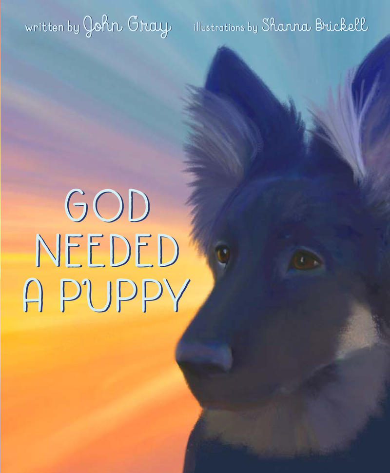 Book Cover - Good Needed A Puppy