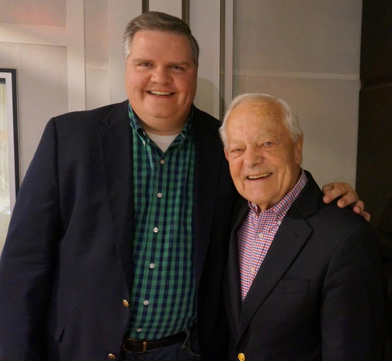 Joe Donahue and Bob Schieffer