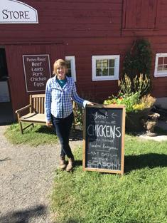 Anna Hodson at Kinderhook Farm