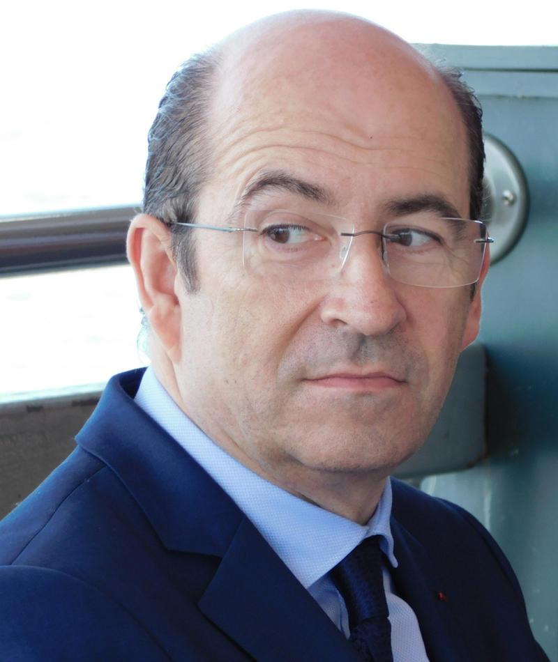 Honfleur Mayor Michel Lamarre