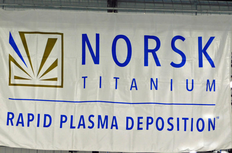 Norsk Titanium banner