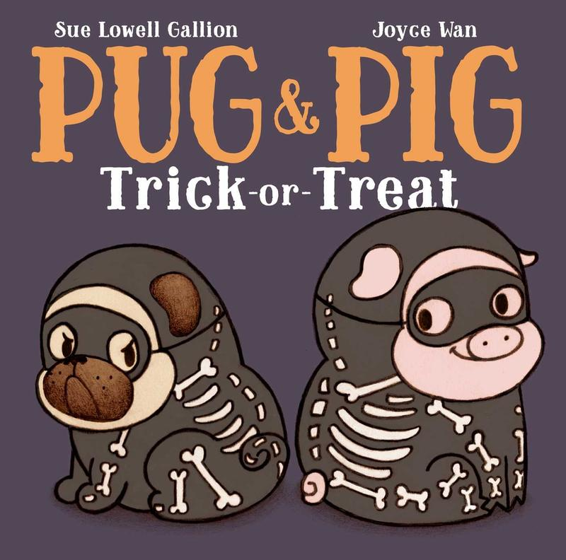 Book Cover - Pug & Pig Trick-or-Treat