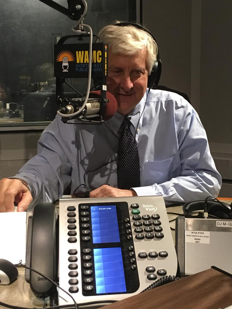 Bill Samuels at WAMC studios