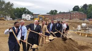 Groundbreaking for the new South End Community Center was held on Sept. 23, 2016