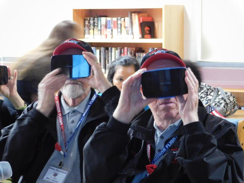 Taking the virtual tour