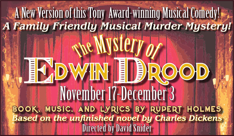 Edwin Drood at Hubbard Hall artwork