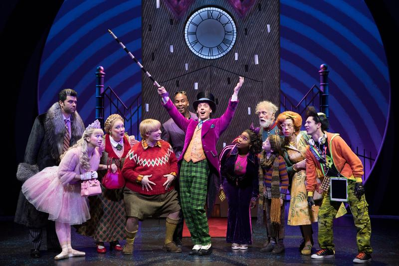 "Broadway Cast Of ""Charlie and the Chocolate Factory"" at the Lunt-Fontanne Theater"
