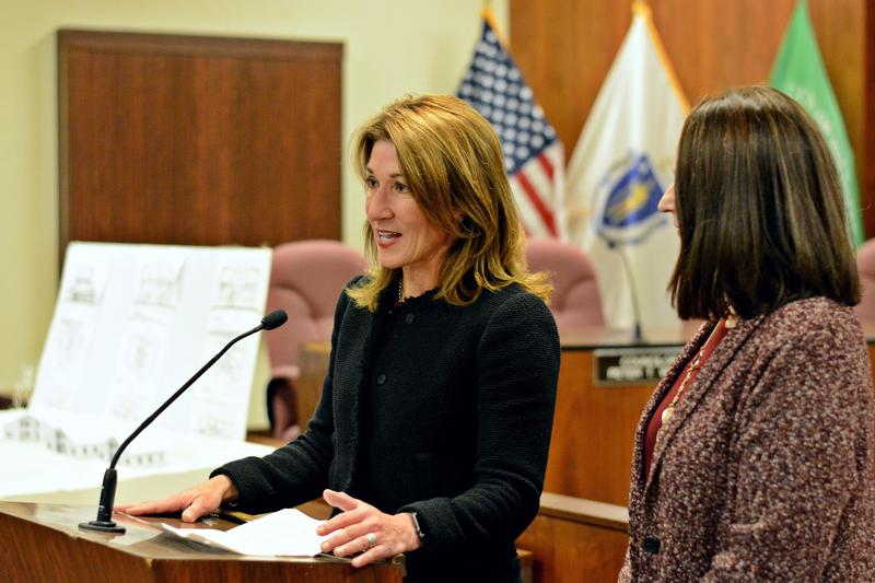 Lieutenant Governor Karyn Polito champions the Community Compact Program as an avenue to state dollars.