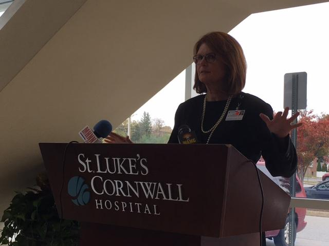 SLCH President and CEO Joan Cusack-McGuirk