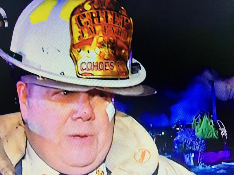 Cohoes Fire Chief Fahd at the Remsen Street fire speaks with Newschannel 13. People are homeless and several buildings have been completely destroyed.