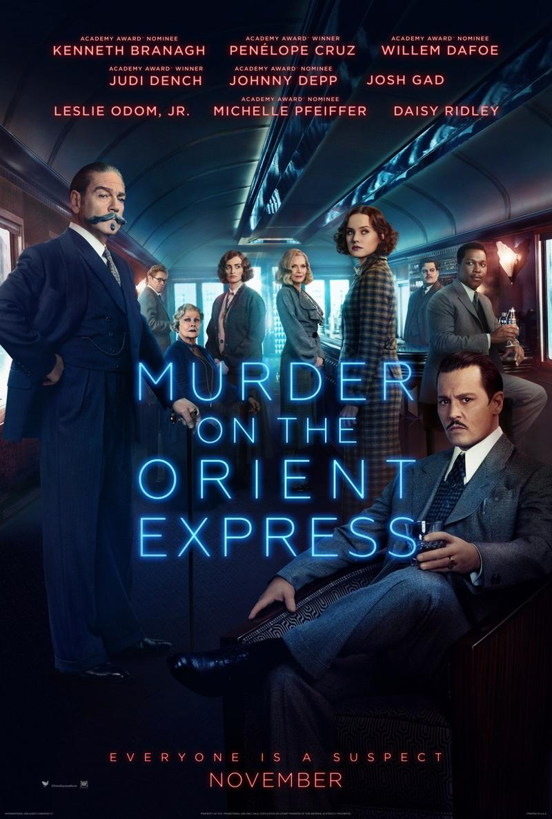 Movie poster - Murder on the Orient Express