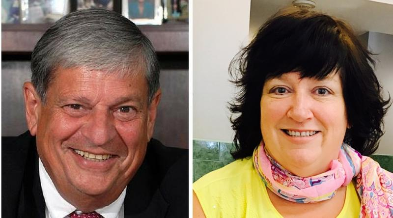 Democrat John Barrett faces Republican Christine Canning for the 1st Berkshire House district seat.