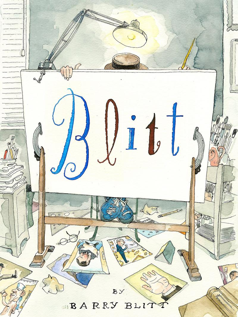 Book Cover - Barry Blitt
