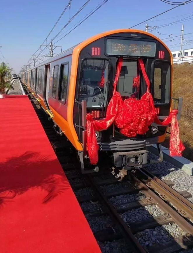 Prototype of subway car that will be built in springfield to ship crrc unveiled four pilot subway cars in china that will be shipped to boston for testing on the mbta orange line more than 400 new rail cars for the red sciox Gallery