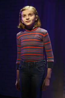 Carly Gold as 'Small Alison' in Fun Home