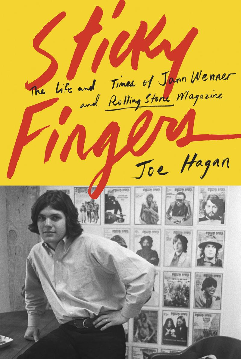 Book Cover - Sticky Fingers