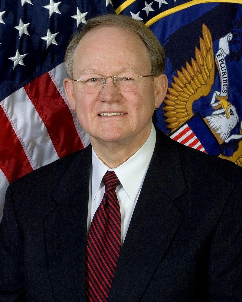 Retired Admiral Mike McConnell