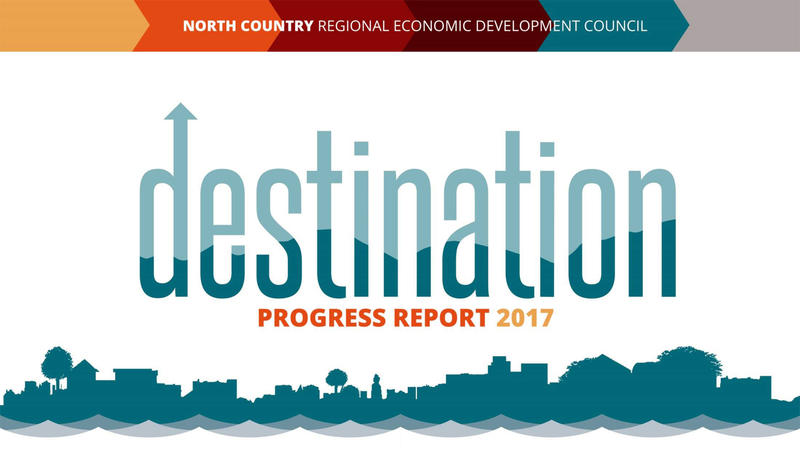 North Country Regional Economic Development Council report cover
