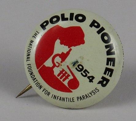 Polio Pioneer pin