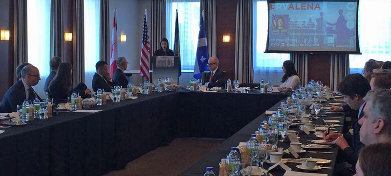 Congresswoman Elise Stefanik meets with Canadian dignitaries and business leaders in Montreal