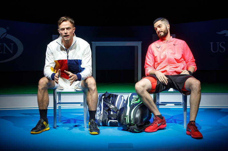 Wilson Bethel and Alex Mickiewicz in The Roundabout Theatre Company production of