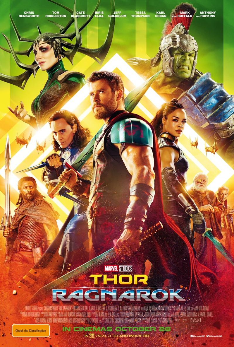 Movie Poster - Thor: Ragnarok