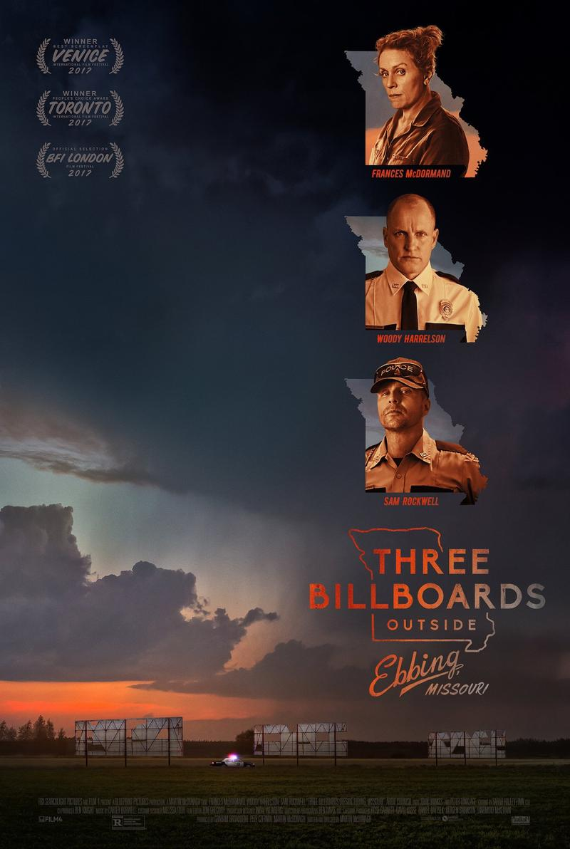 Movie Poster - Three Billboards Outside Ebbing, Missouri