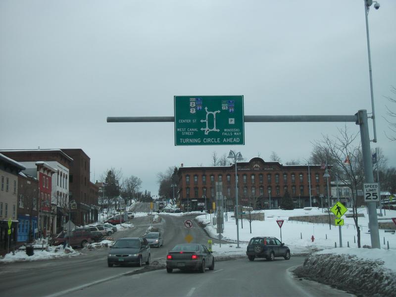 Winooski center city area