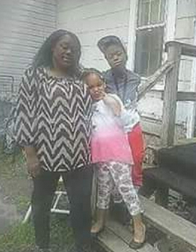 5-year-old Shanise Myers, 11-year-old Jeremiah Myers, their 36-year-old mother Shanta Myers