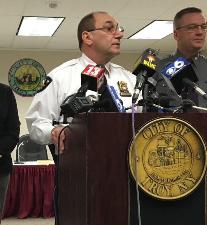 """""""We do not believe there's any imminent danger to the community."""" ~ Troy Police Chief John Tedesco"""