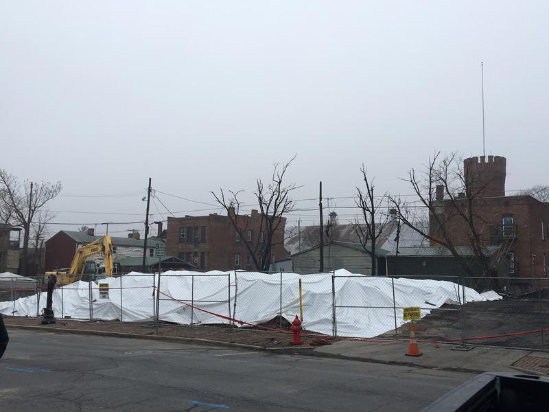 What's left of 200 through 228 Remsen Street.