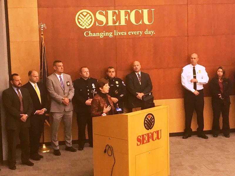 "Albany Police have teamed up with SEFCU in the launch of ""Capital Region Crime Stoppers."""