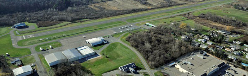 North Adams' public Harriman-and-West airport