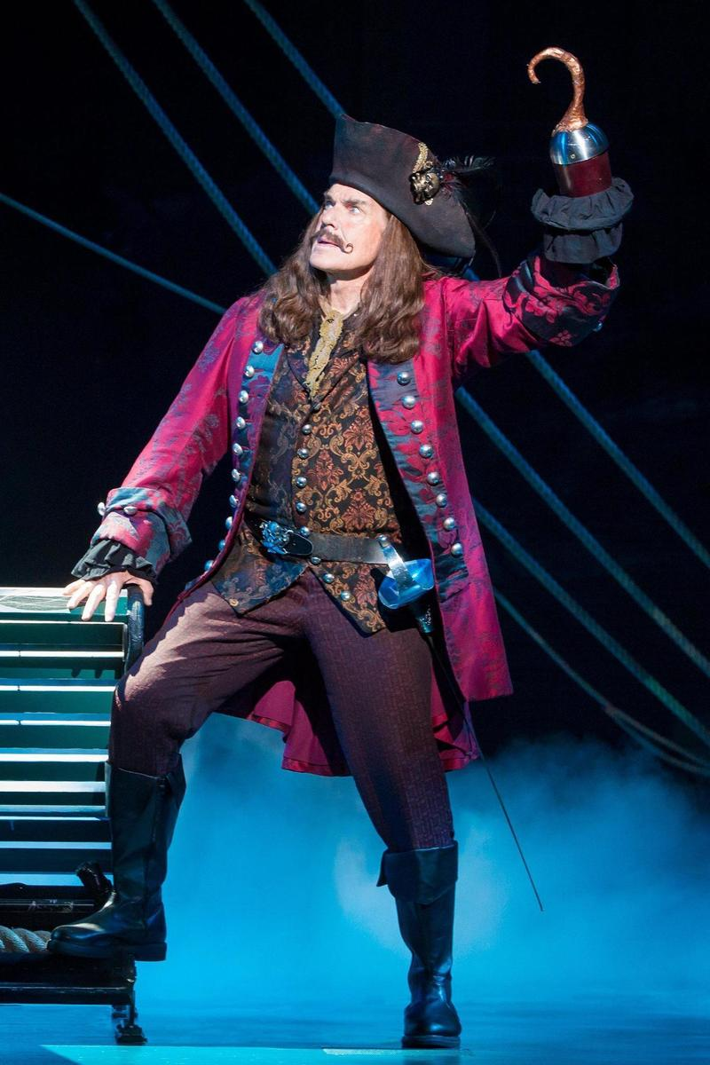 John Davidson as Charles Frohman/Captain James Hook