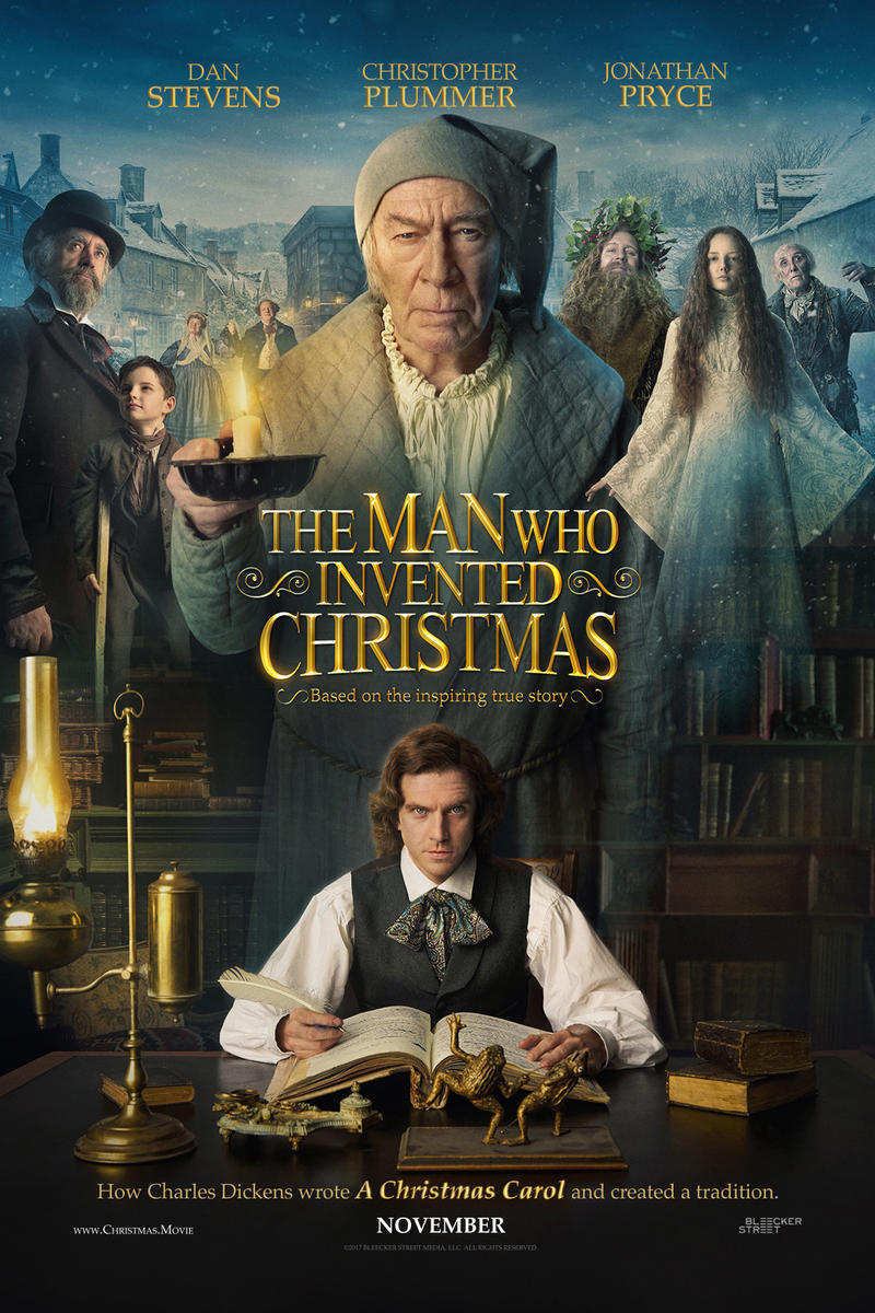 Movie Poster - The Man who Invented Christmas