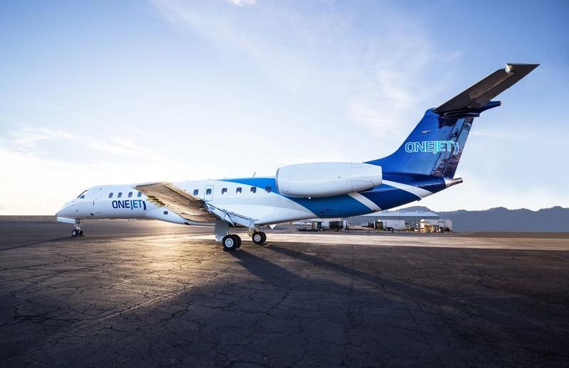 OneJet aircraft