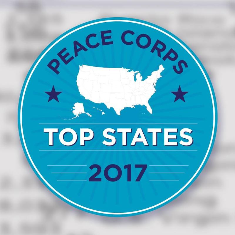 Peace Corps Top States logo