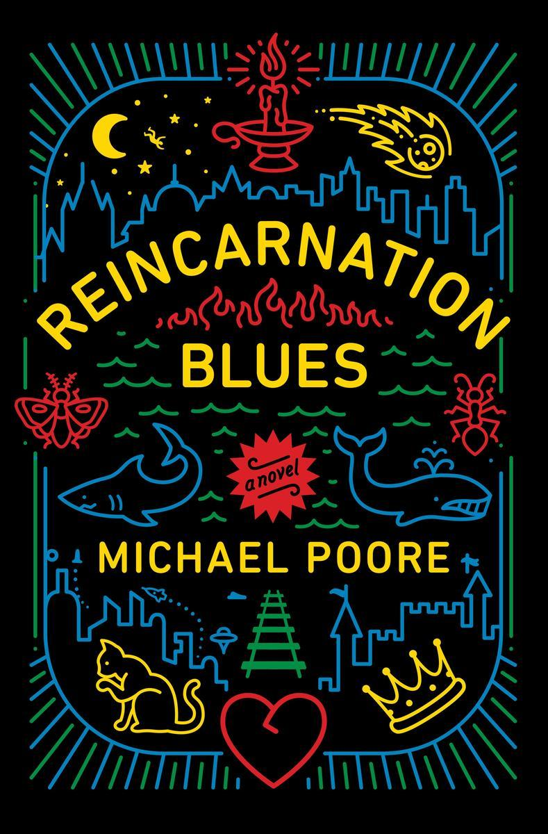 Book Cover - Reincarnation Blues