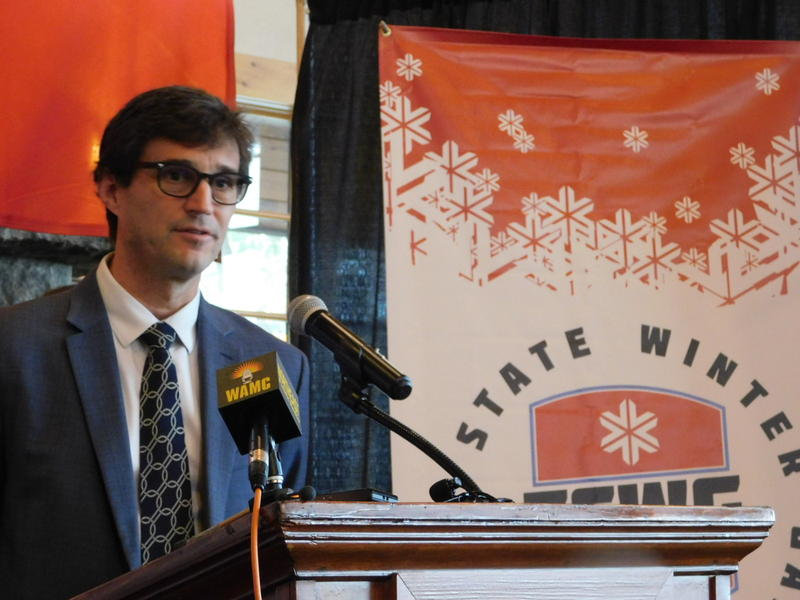 Empire State Winter Games Executive Director Tait Wardlaw