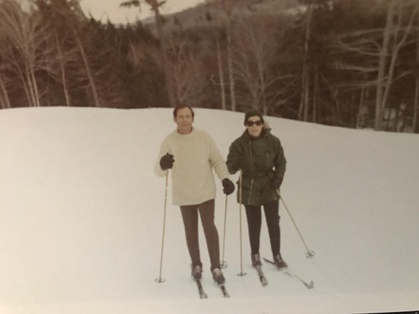 Jan and Ed Tishman in Warren, Vt. 1971