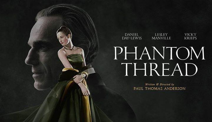 Movie poster - Phantom Thread