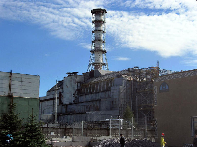 Chernobyl power plant, seen here in 2006