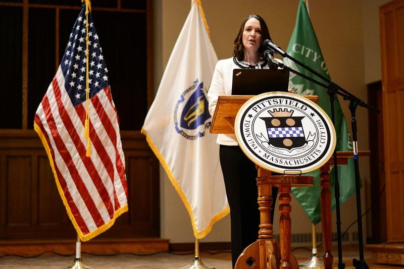 Looking forward to the next two years, Pittsfield Mayor Linda Tyer says she's optimistic.
