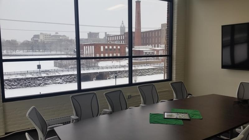 Conference room with a view at the culinary institute