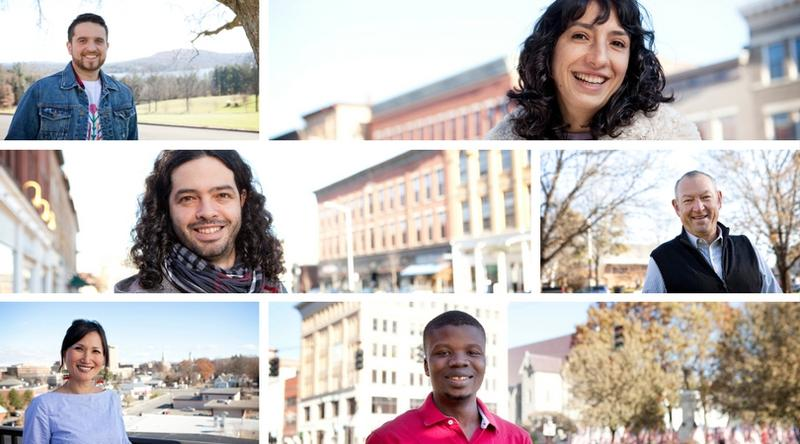 Tobi is from Israel; Andres from Ecuador; Pamela from Ecuador; Roman from Moldova; Yuki from South Korea; Salif from Burkina Faso: all of whom have participated in BCC's Berkshire Immigrant Stories Program.