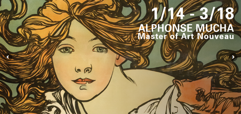 Artwork for Alphonse Mucha at The Hyde Collection