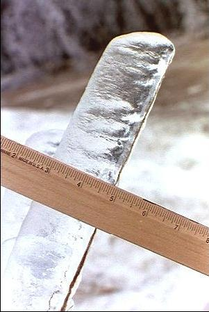 Sample of 1998 Ice Storm thickness