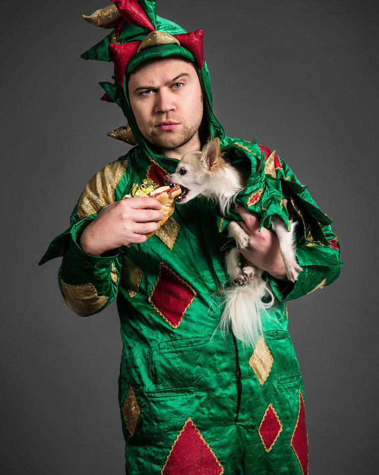 Piff the Magic Dragon press photo