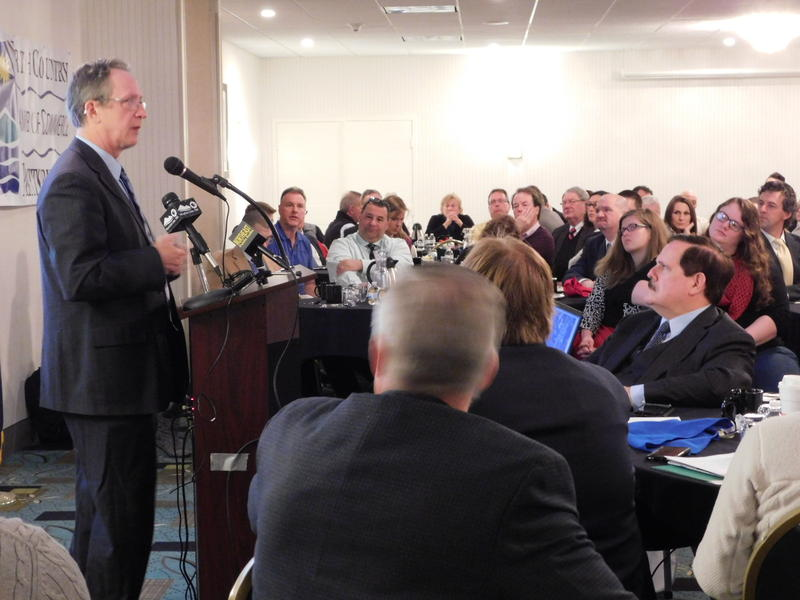 Plattsburgh Mayor Colin Read offers State of the City report